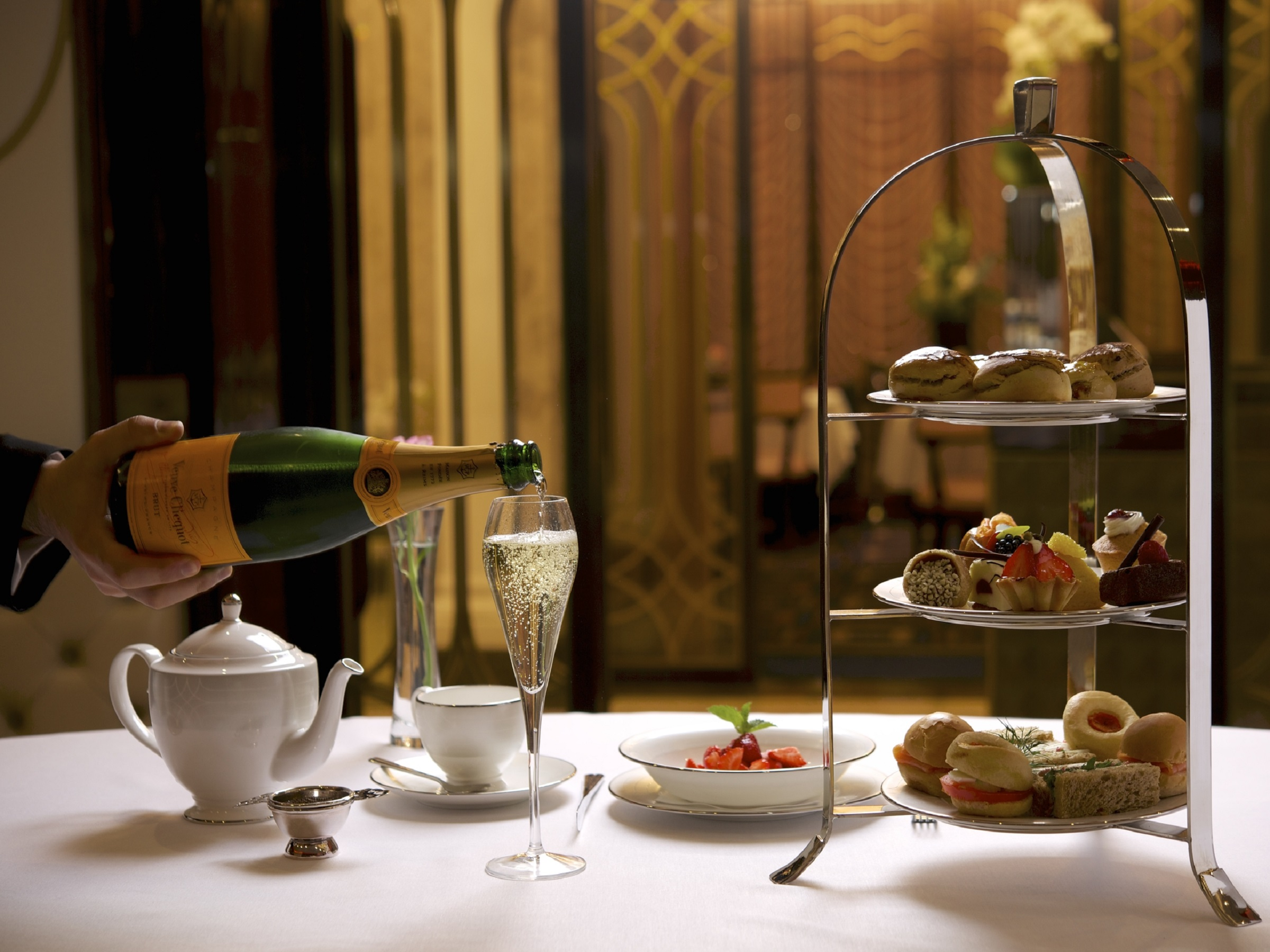 Reserve a table at Afternoon Tea at The Wellesley