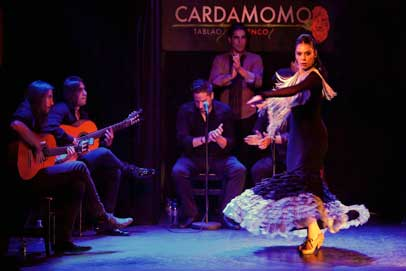 Réserver une table à Cardamomo Tablao Flamenco