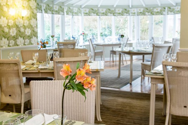 Dining at Wilton Court - Herefordshire