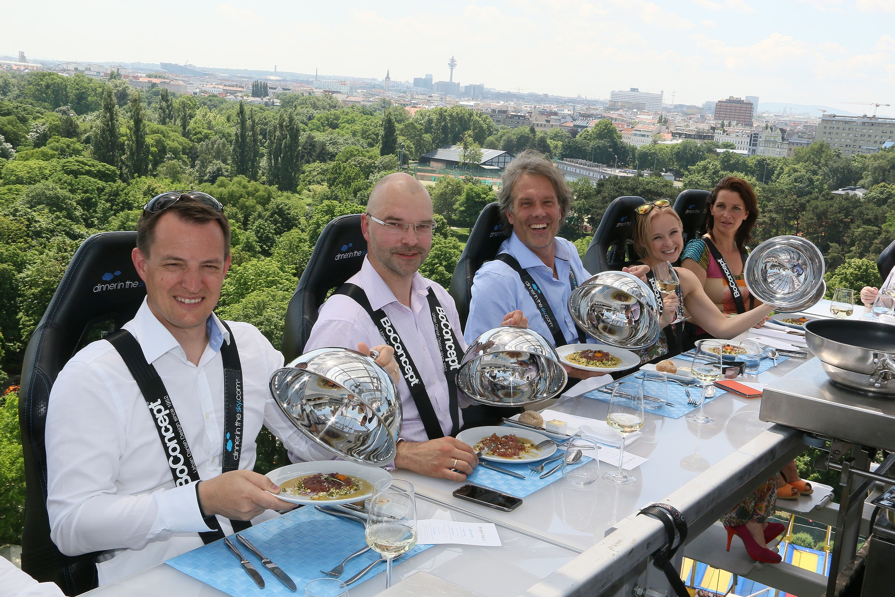 Dinner in the Sky - Vienna