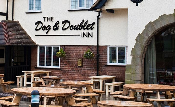 Dog & Doublet - Staffordshire