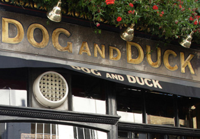 Reserve a table at Dog & Duck