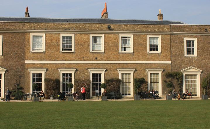 Drawing Room Cafe at Fulham Palace - London