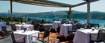 Summit Bar at Conrad Istanbul