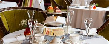 Afternoon tea at Pennyhill Park - Bagshot