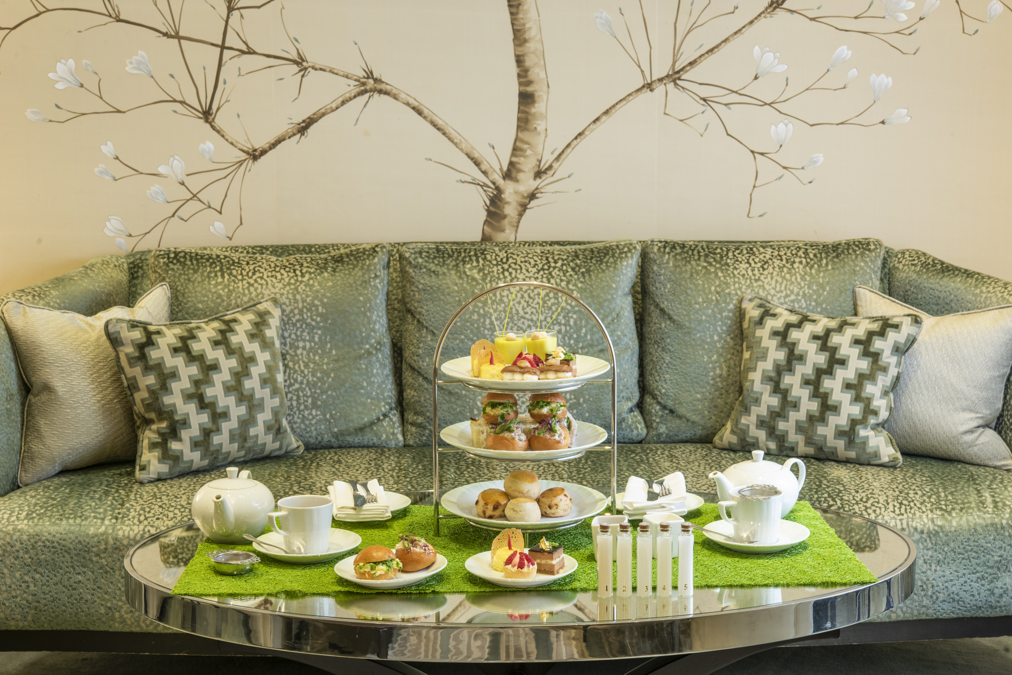 Image of Afternoon Tea at the Knightsbridge Lounge