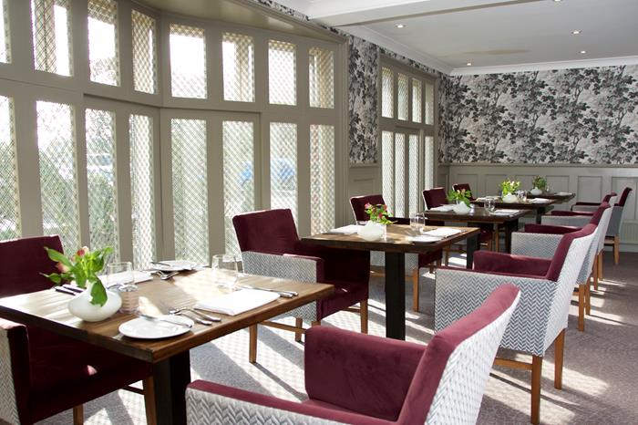 The Dining Room at Deans Place Hotel