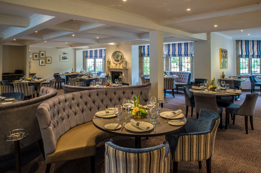 Emlyn Restaurant at Burford Bridge Hotel - Surrey