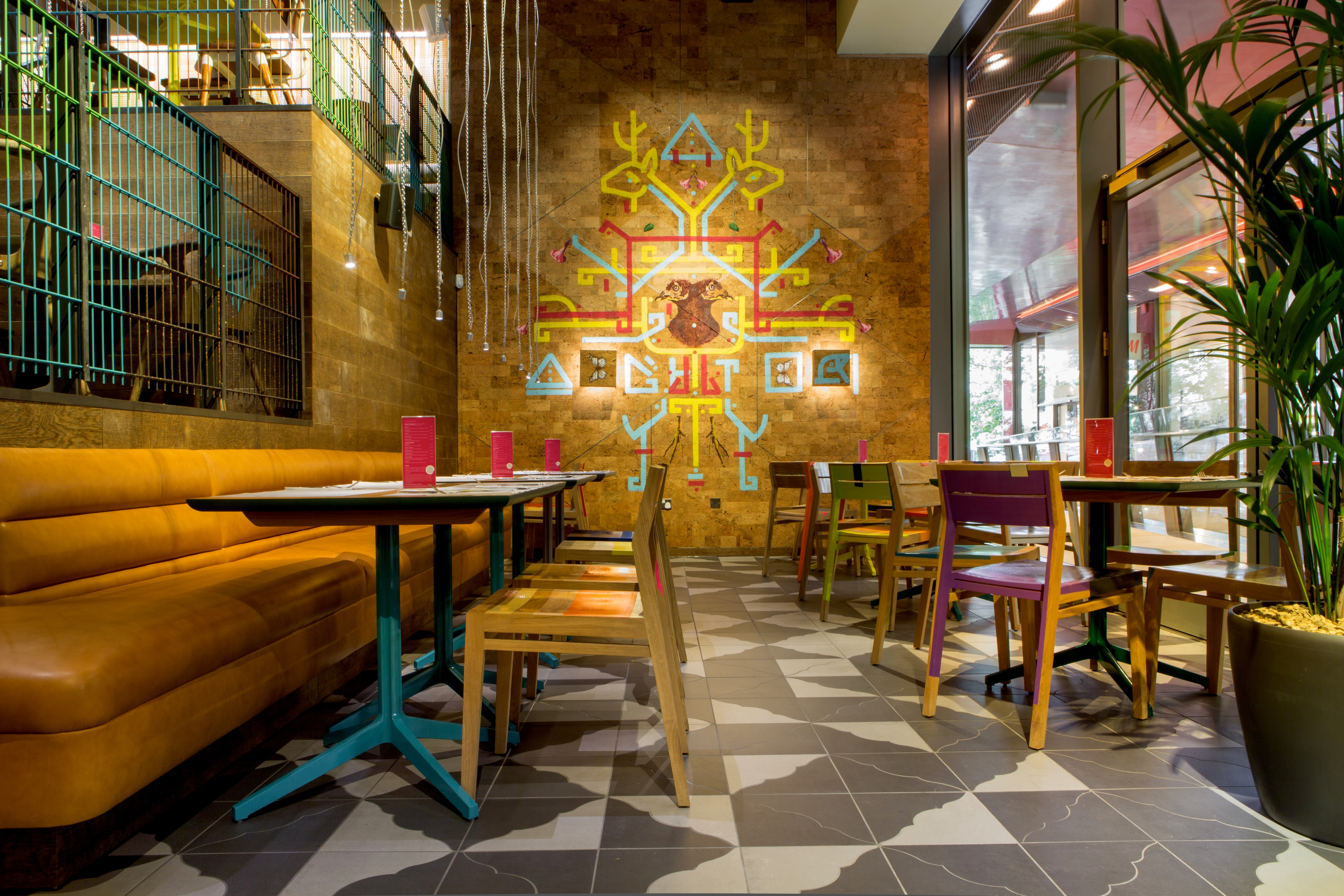 Reserve a table at Wahaca St Paul's