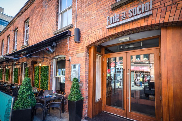Fade Street Social - The Gastro Bar - Dublin