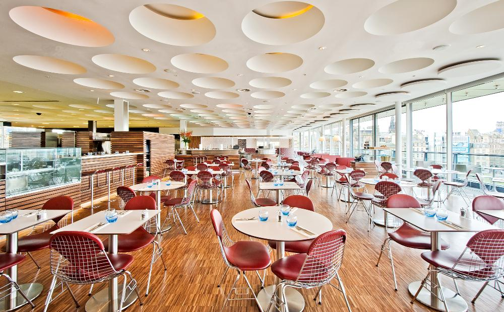 Forth Floor Brasserie Harvey Nichols Edinburgh I