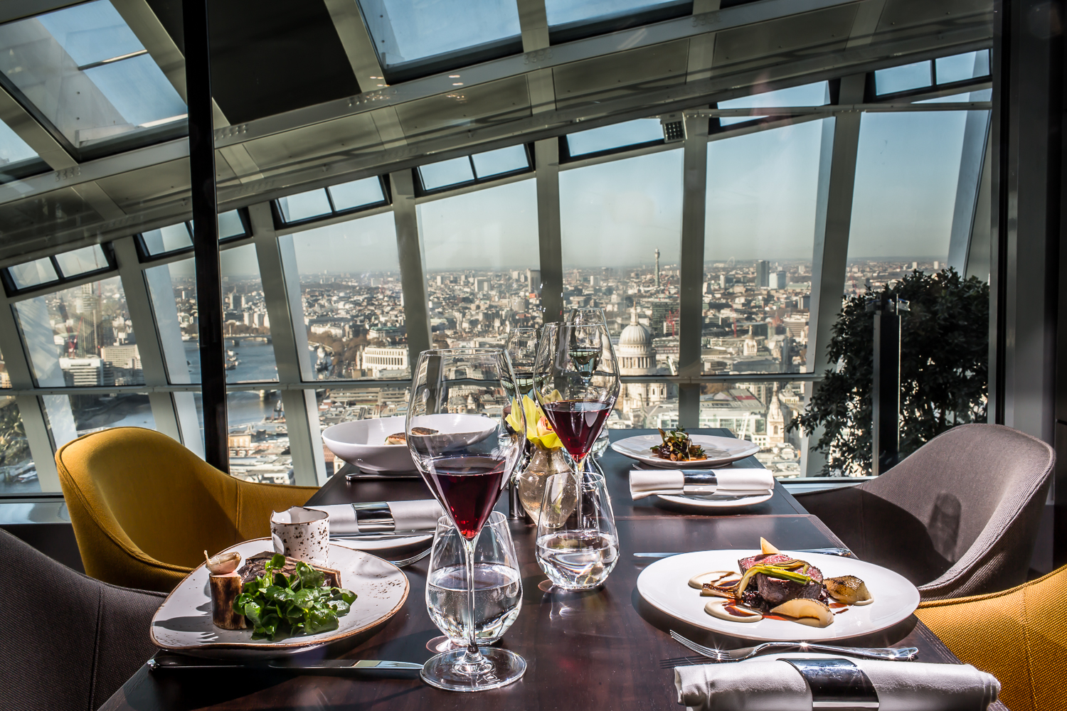 Fenchurch Restaurant - London