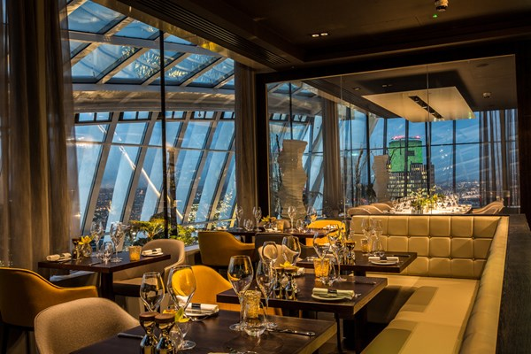 Fenchurch Restaurant at Sky Garden - London
