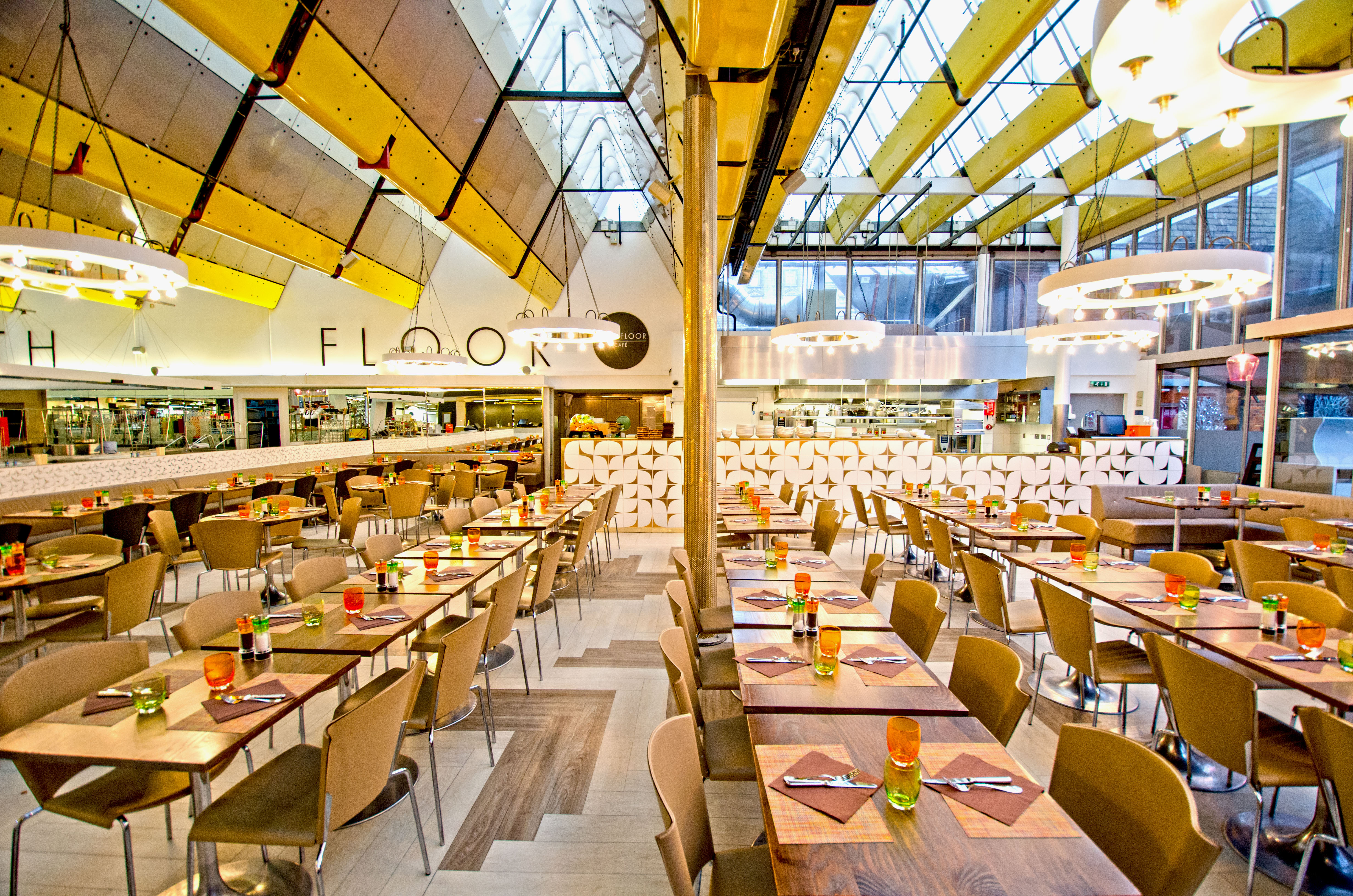 Fifth Floor Café, Harvey Nichols Knightsbridge - London