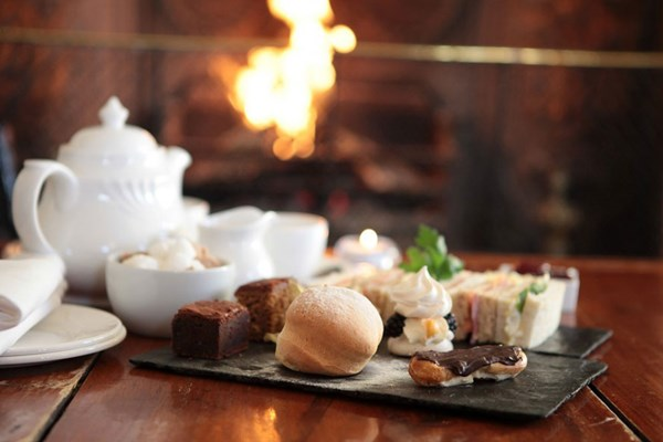 Fowey Hall Hotel Afternoon Tea