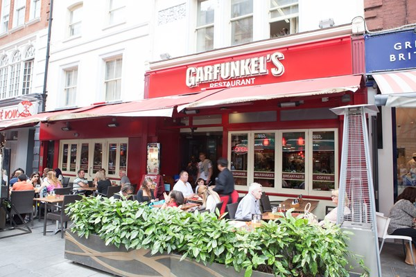 Garfunkel's – Leicester Square, London   Book a table online