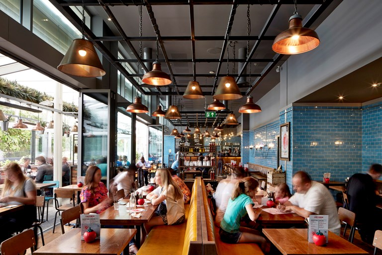 Gbk westfield london bookatable for Terrace exeter
