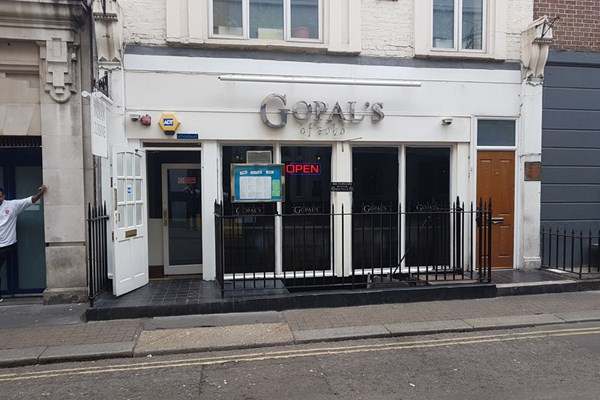 Gopal's of Soho Restaurant - London