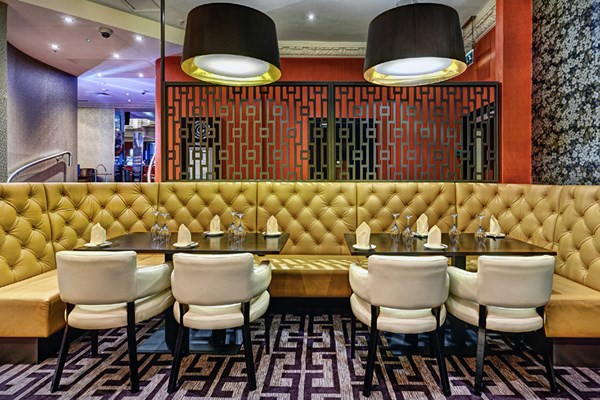 Grosvenor casino russell square london bookatable for Food bar russell