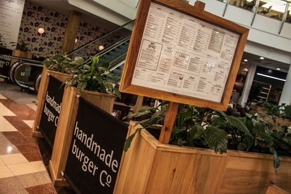 handmade burger Co - Braehead - Glasgow