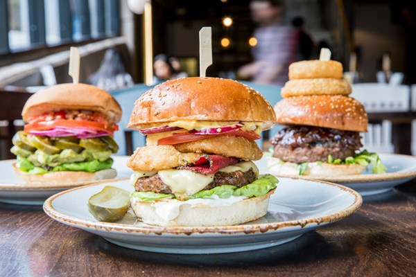 handmade burger Co - Brindleyplace  Birmingham - West Midlands