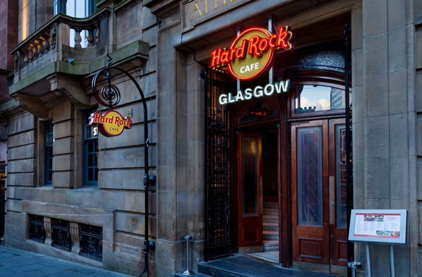 Hard Rock Cafe - Glasgow - Glasgow