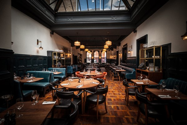 Hawksmoor manchester new quay street spinningfields for Best private dining rooms manchester