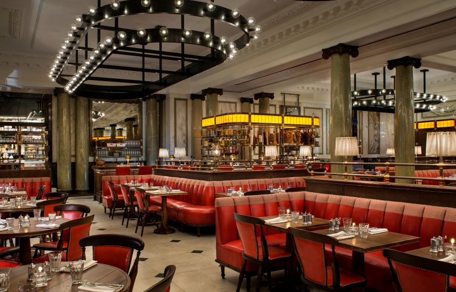 Reserve a table at Holborn Dining Room at Rosewood London