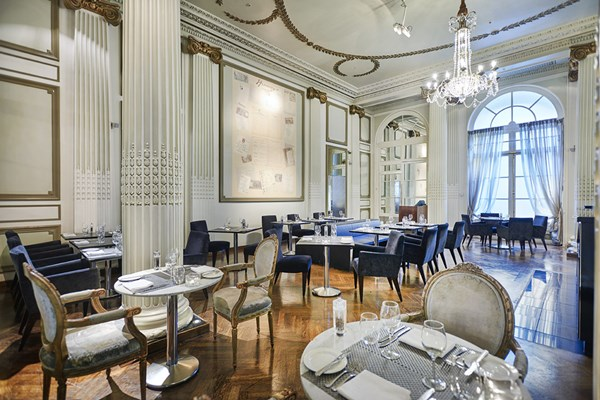 Homage Restaurant at The Waldorf Hilton - London
