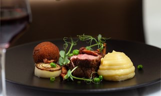 3-course dinner & a glass of champagne £35 per person