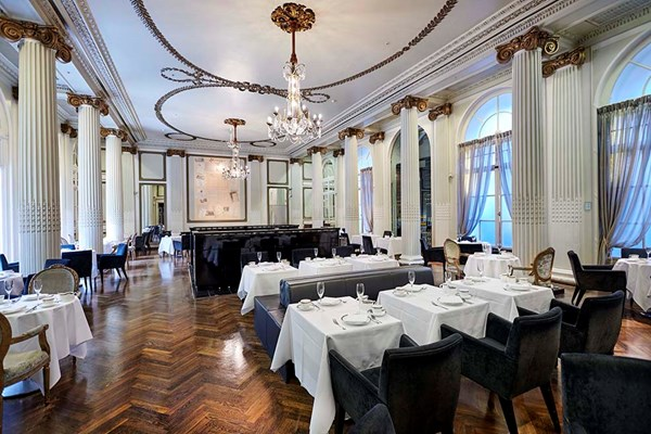 Homage Restaurant At The Waldorf Aldwych London