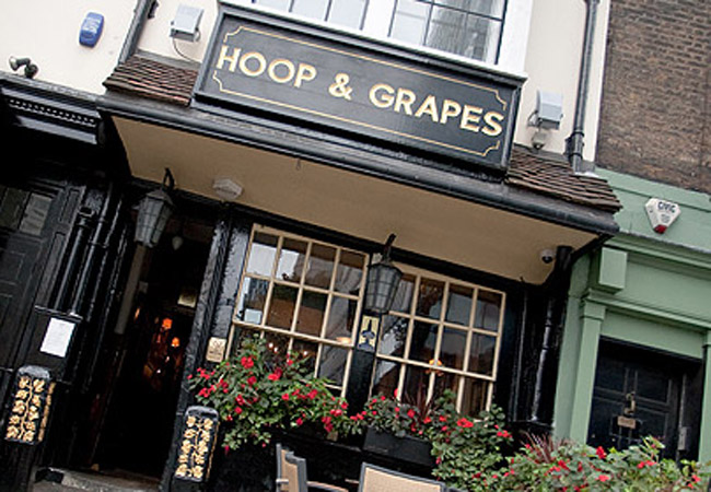 Reserve a table at Hoop and Grapes