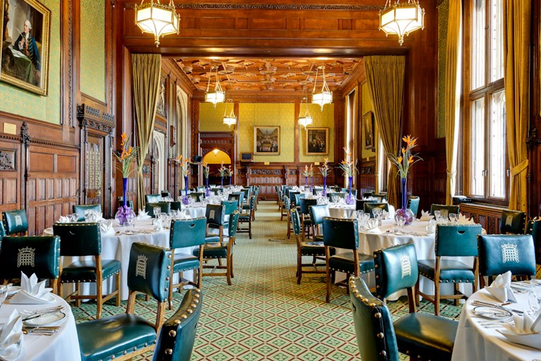 The members 39 dining room at the house of commons for Dining room c house of commons