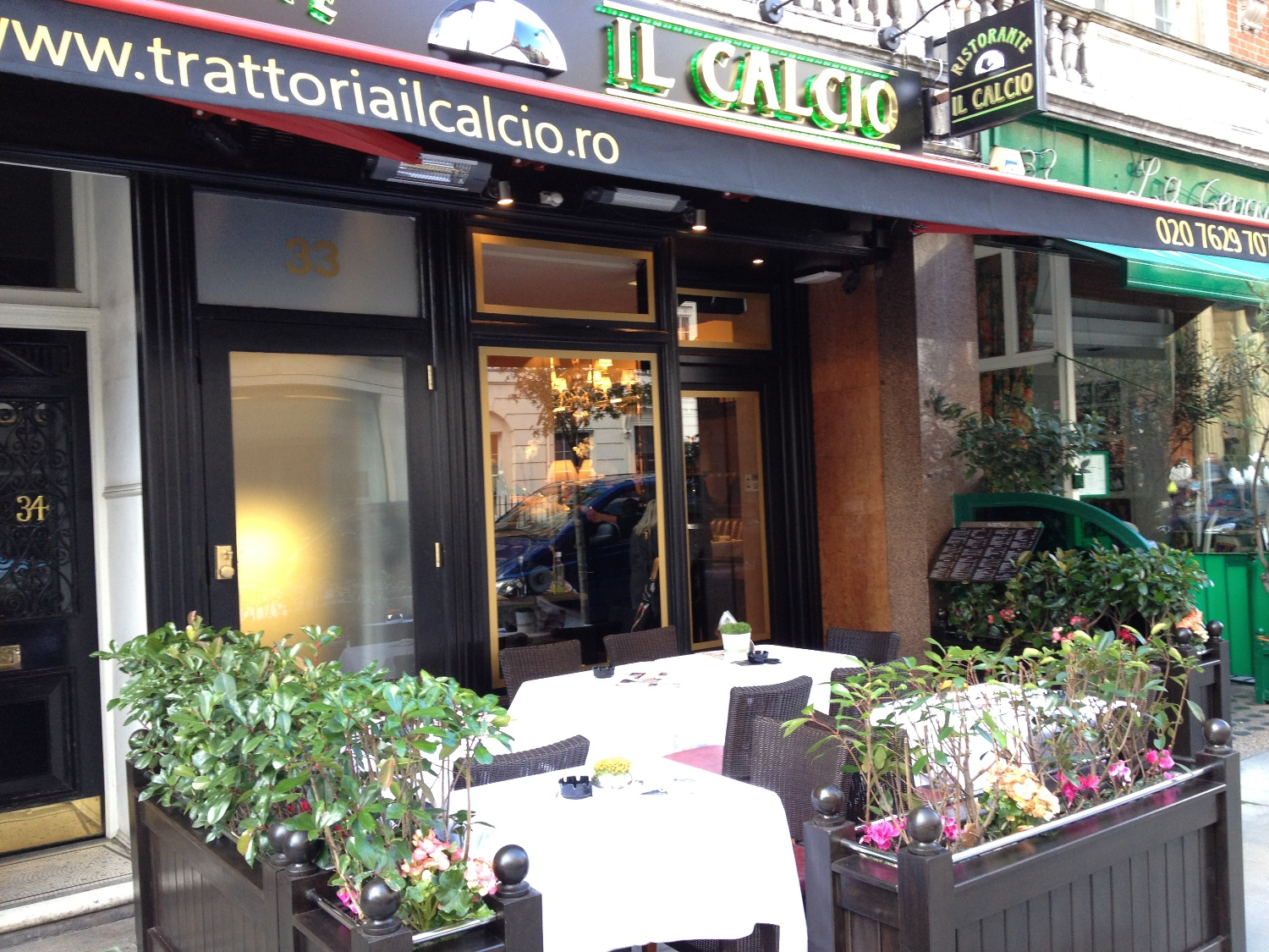 Reserve a table at Il Calcio - Mayfair