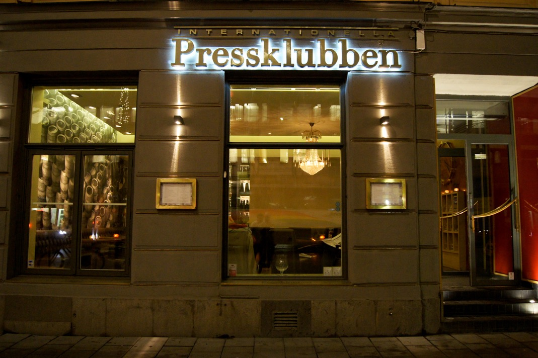 Internationella Pressklubben - Stockholm