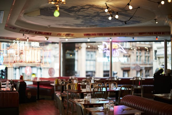 Jamie Oliver - The Diner - London