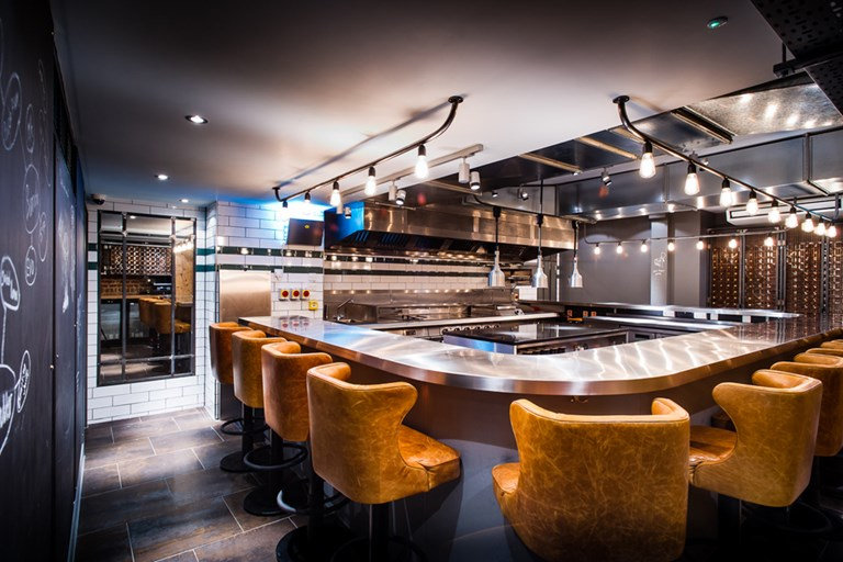 The Kitchen Table Kitchen table restaurant home design and decorating kitchen table at bubbledogs goodge street london bookatable kitchen ideas workwithnaturefo