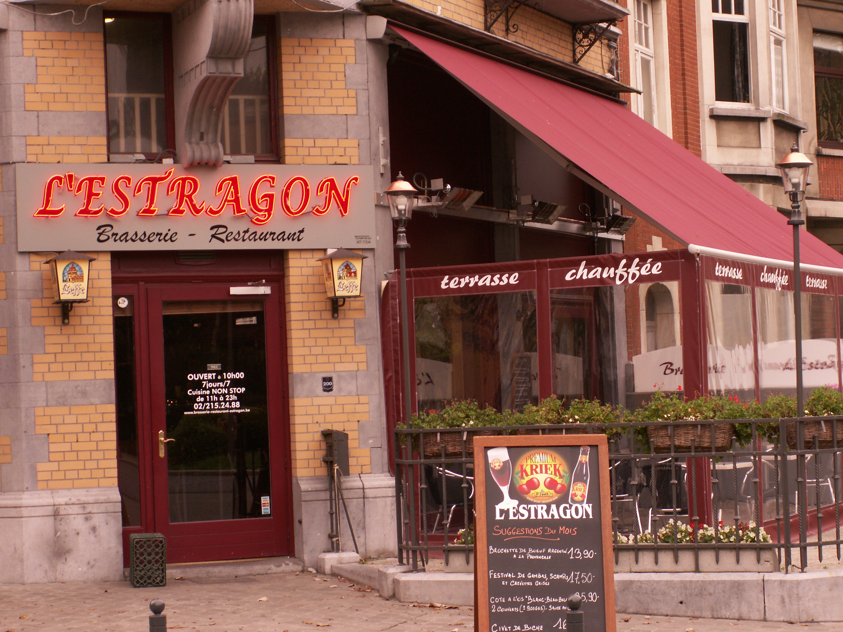 L' Estragon - Brussels