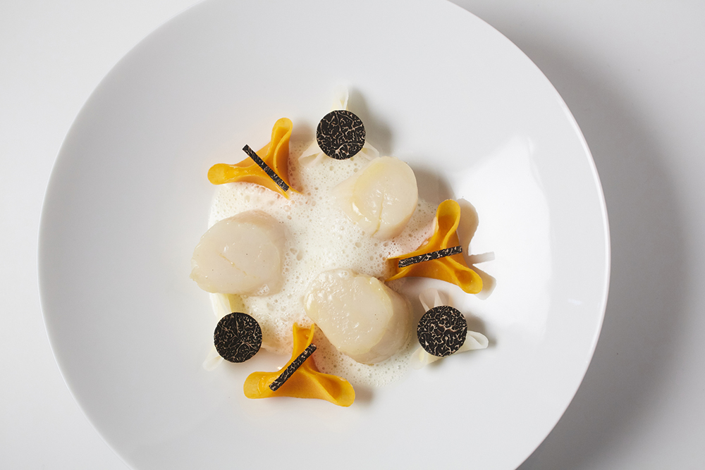 2-course lunch £32 or 3-course lunch £42 per person
