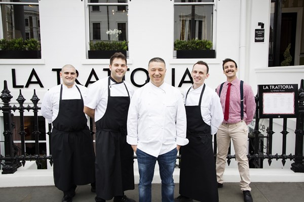 La Trattoria by Alfredo Russo - London