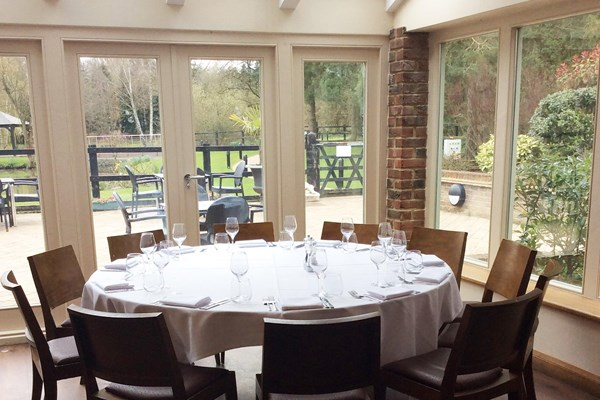 Great Hallingbury Manor Restaurant Menu