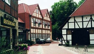 Landidyll Hotel Deutsches Haus - Lower Saxony