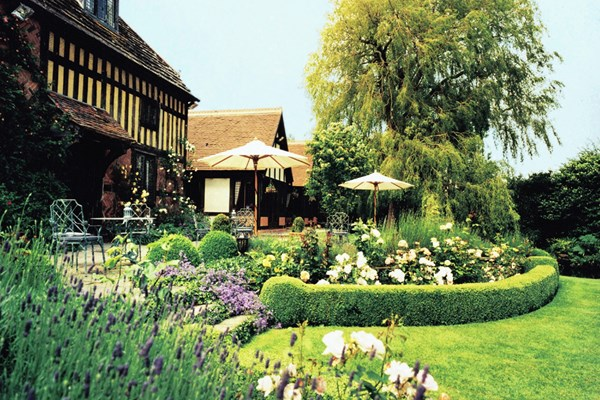 Mulberry Restaurant at Langshott Manor Hotel - Surrey