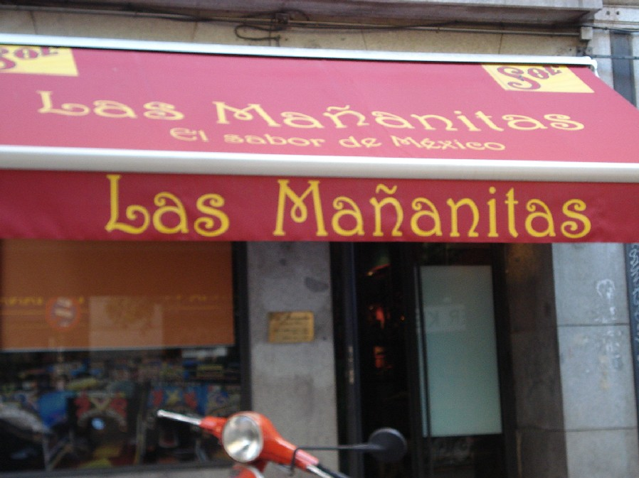 Reserve a table at Las Mañanitas