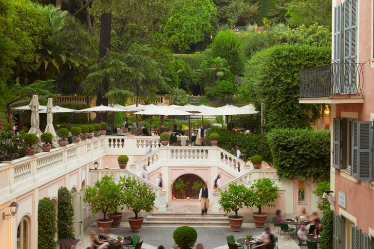 Le jardin de russie restaurant rome book a table online for Le jardin des frenes restaurant