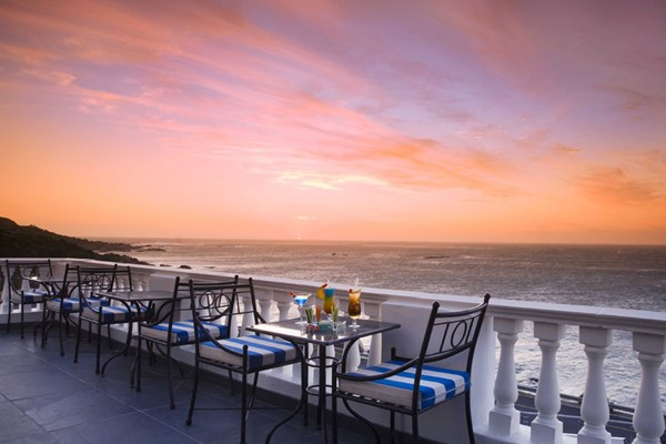 Leopard Lounge at the Twelve Apostles Hotel and Spa - Cape Town