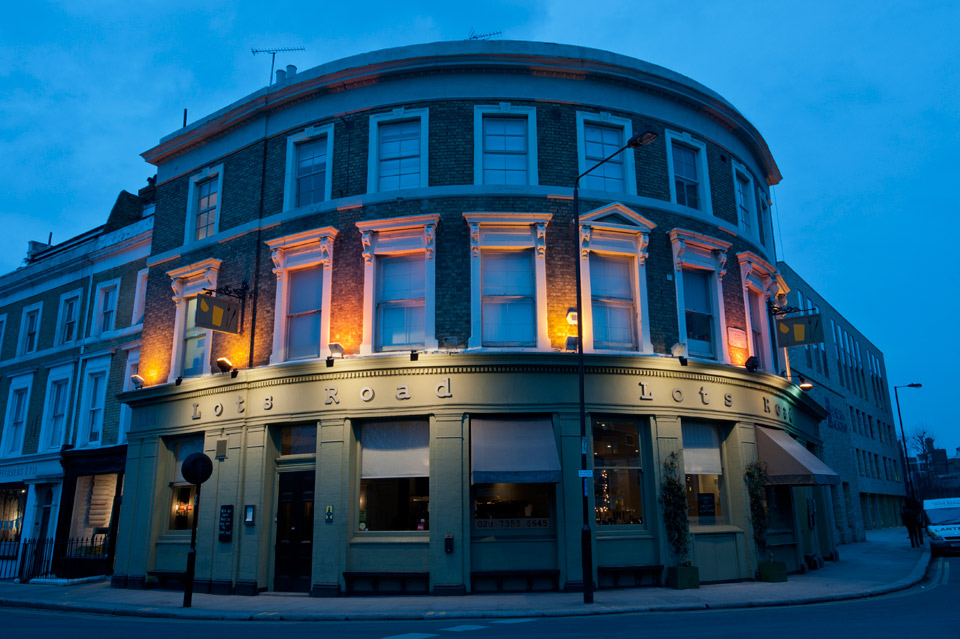 Reserve a table at Lots Road Pub & Dining Room