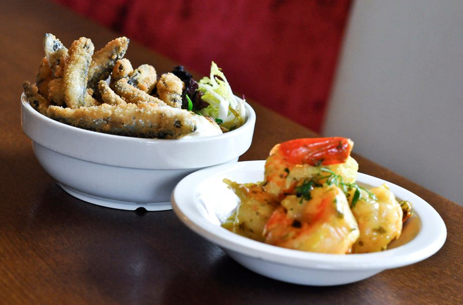 Reserve a table at Mezzè at The Warwick Arms