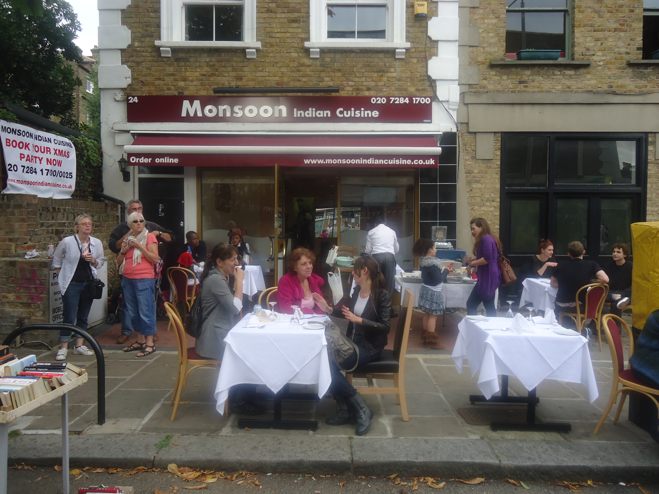 Monsoon Indian Restaurant - London