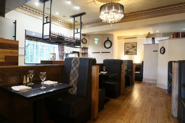 Mr Brown's Restaurant at the Victoria Hotel - Greater Manchester